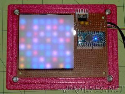 Random LED Dots: Hardware Layout