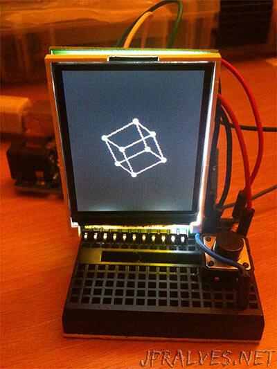 Tiny 3D Engine on the ATmega328 (Arduino UNO)