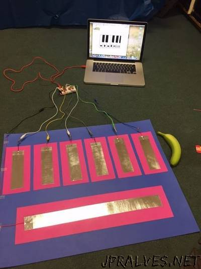 DIY Makey Makey Floor Piano