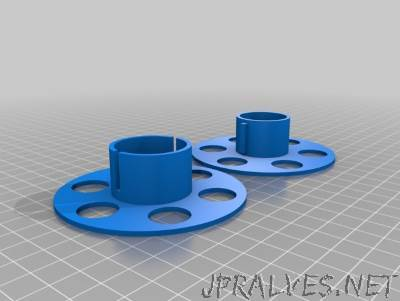 Customizeable Cable Spool Organizer
