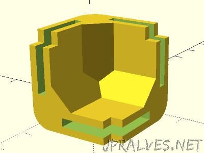Parametric Mini Modular Framing System - Corner Block and Rail