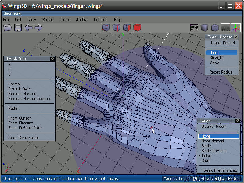 OpenSource_wings3d_screenshot