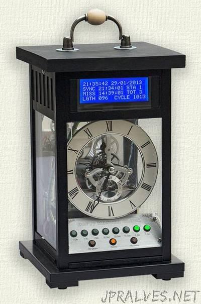 Arduino LCD Master Clock - jpralves net