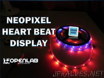 NeoPixel Heart Beat Display