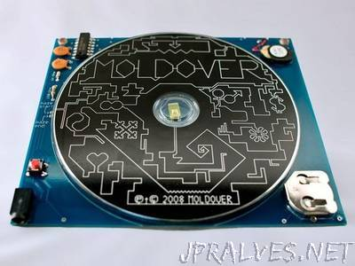 Moldover's Light-Theremin CD (DIY version)
