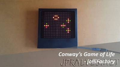 Arduino based Bi-color LED Matrix Game of Life