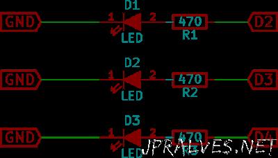 mbed_leds_schematics
