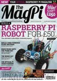 The MagPI Issue 38 - October 2015