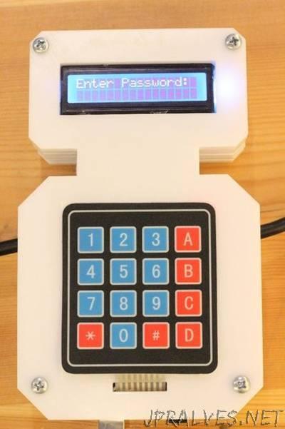 Lock Machines with Passwords