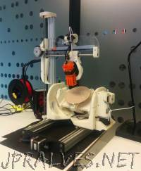 University of Oslo Master's Student Creates Amazing Open Source 5-Axis 3D Printer