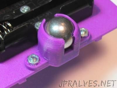 Ball bearing caster
