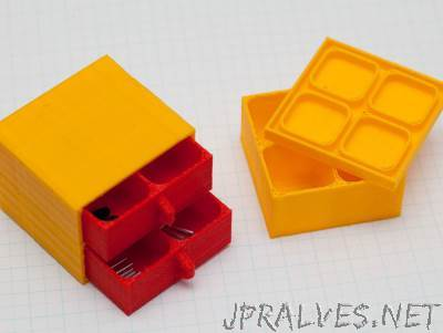 Deluxe Parametric Compartment Box