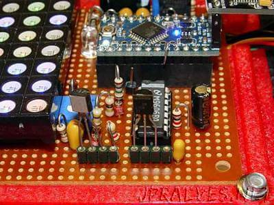 Avalanche Noise Amp: Arduino Firmware