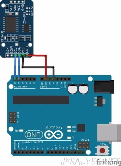Synchronise DS3221 RTC with PC via Arduino