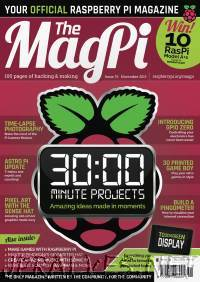 The MagPI Issue 39 - November 2015