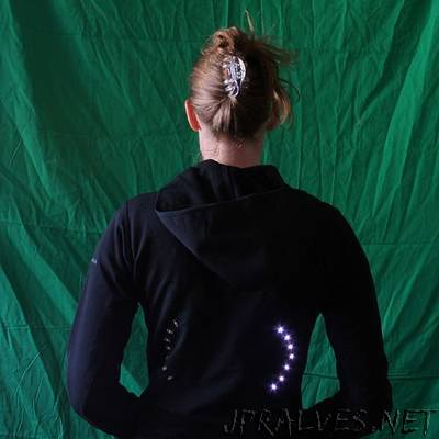 turn signal biking jacket
