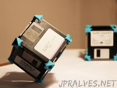 Floppy disk construction kit
