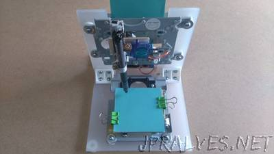 Arduino Mini CNC Plotter Machine from dvd drives