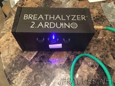 Breathalyzer 2.Arduino