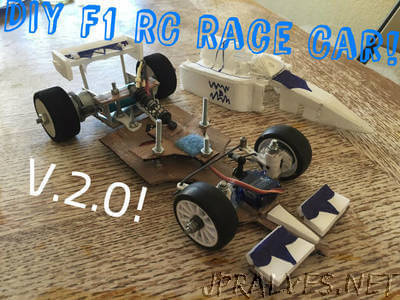 DIY F1 RC Race Car! V.2.0