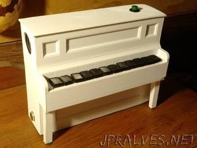 Arduino Player Piano