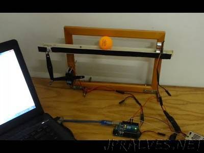 Balancing of a Ball on Beam using Arduino as a PID controller