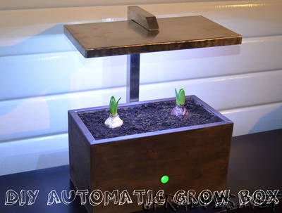 DIY Automatic Grow Box