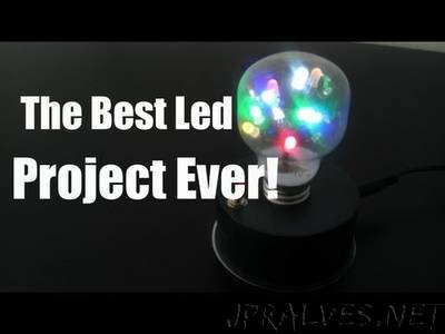How to Make a Light Bulb with Dancing LEDs Inside