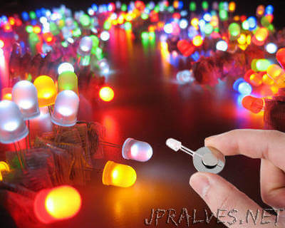 Make An LED Throwie Great Fun For Party's