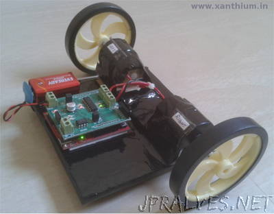 Make Your Own MSP430 Launchpad based Robot