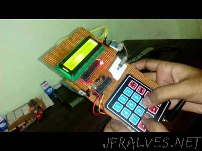 mobile phone using arduino
