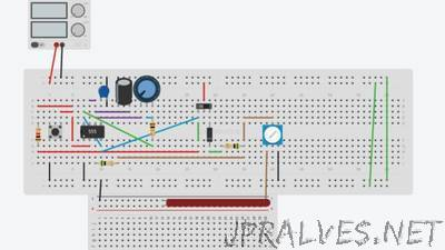 lamp with off timer and dimmer