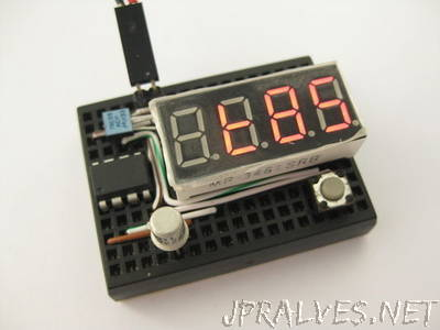 Battery Charger Circuit with 4 LED Indicator Electronic