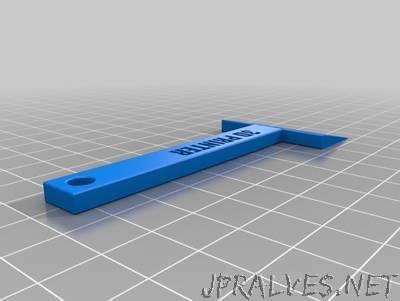 3D Print Bed Scraper