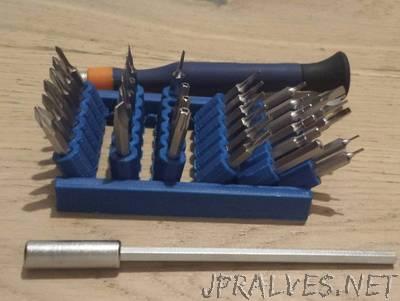 Parametric Micro Tools Holder