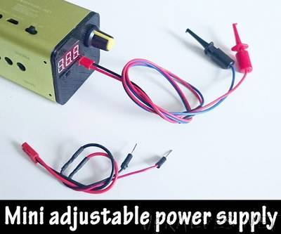 Power Supply Unit for Arduino Power and Breadboard