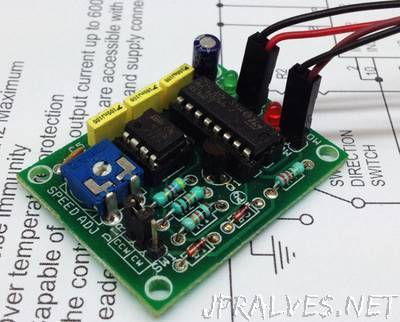 DC Motor Speed and Direction Controller