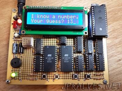 Nibbler 4 Bit CPU