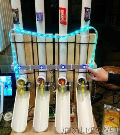 Build an Arduino-Powered Candy Vending Machine