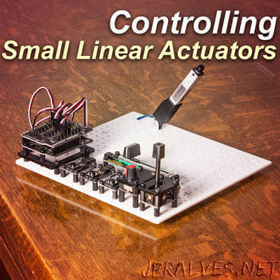 Control a Small Linear Actuator With Arduino