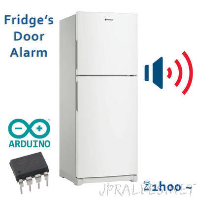 Fridge's door alarm
