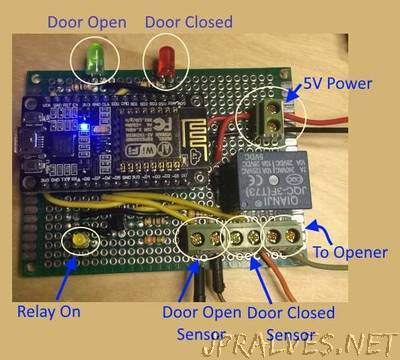 Garage Door Monitor