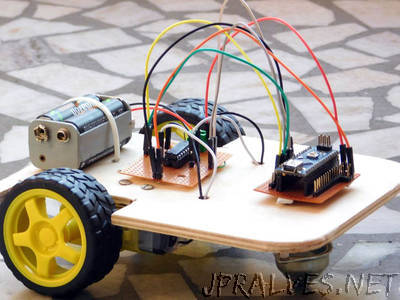 Multi-Purpose Plywood Robot Prototyping Base