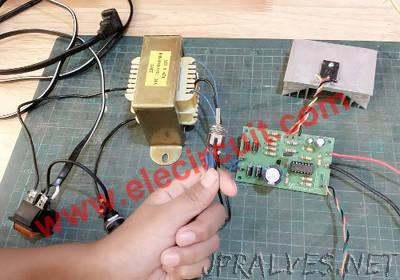 0-30V 3A Adjustable DC Supply