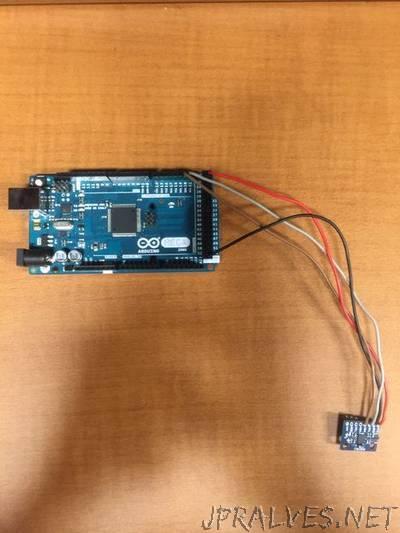 Gyroscopic Arduino Head Tracking Unit