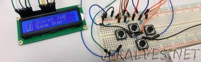 Tetris on Arduino + LCD