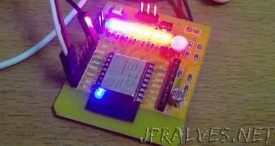 ESP8266 Firmata-J5 NodeBot