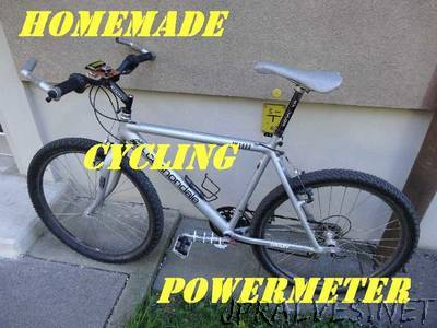 homemade cycling powermeter