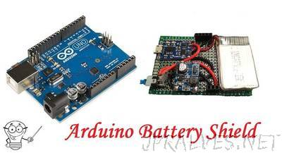 How to Make Arduino Battery Shield