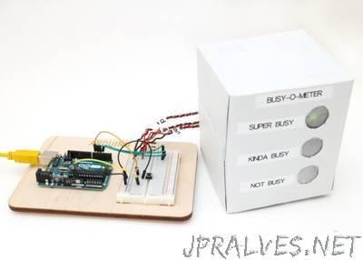 Analoga VU-meter och klocka Arduino